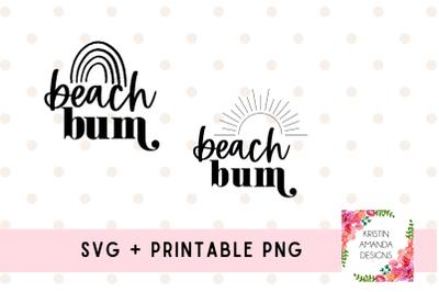 Beach Bum SVG Summer Bundle