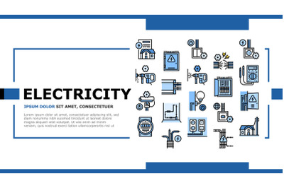 Electrical Installation Tool Icons Set Vector