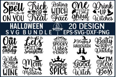 Halloween SVG Bundle Vol 2