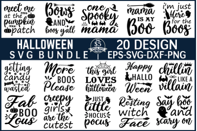 Halloween SVG Bundle Vol 3