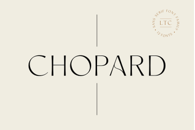 Chopard | Font family