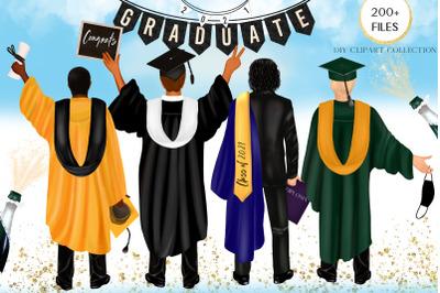 Graduating clipart. Boys
