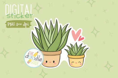 Botanical Sticker 1