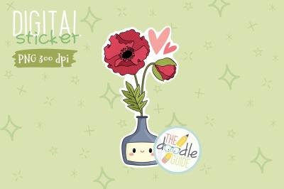 Botanical Sticker 2