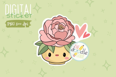 Botanical Sticker 6