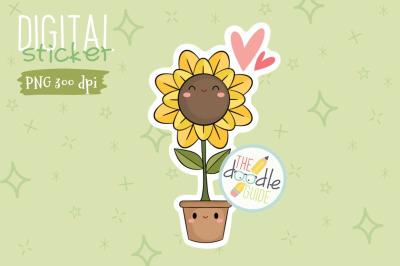 Botanical Sticker 9