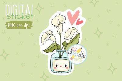 Botanical Sticker 11
