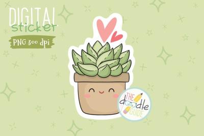Botanical Sticker 14