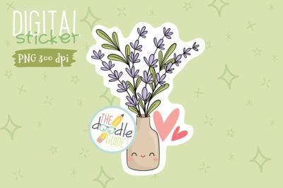 Botanical Sticker 17