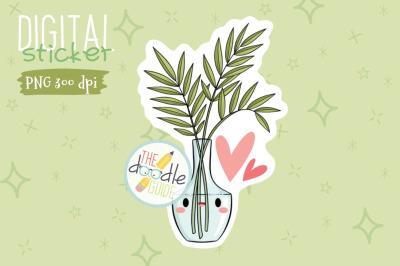 Botanical Sticker 18