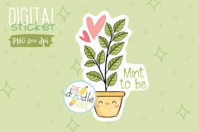Botanical Sticker 20