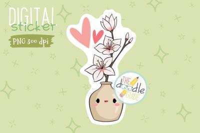 Botanical Sticker 21