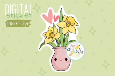 Botanical Sticker 23