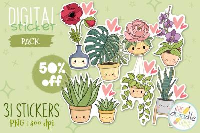 Botanical Sticker Bundle (50% off)