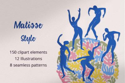 Matisse Style Illustration Set
