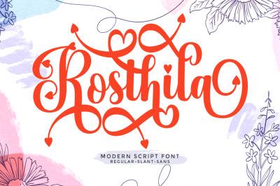 Rosthila Script