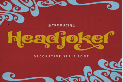 Headjoker - Decorative Serif Font