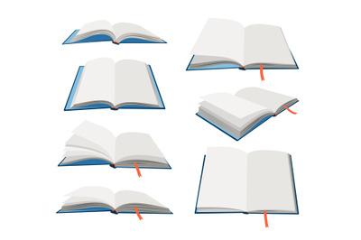 Empty open books set