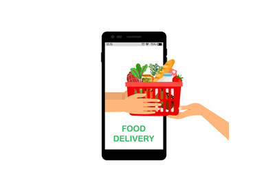 Contactless grocery delivery