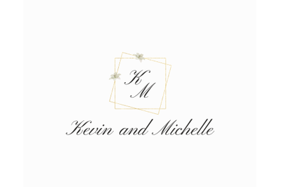 Wedding logo, Logo design, Editable template, Holiday set,