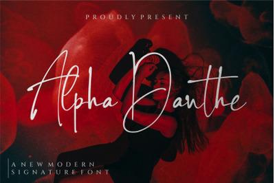 Alpha Danthe