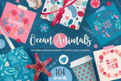 Ocean Animals Kit