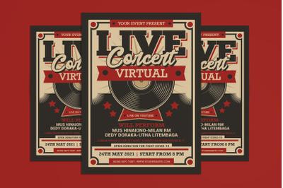 Live Concert Virtual Retro