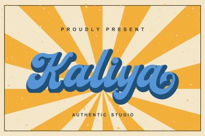 Kaliya Font