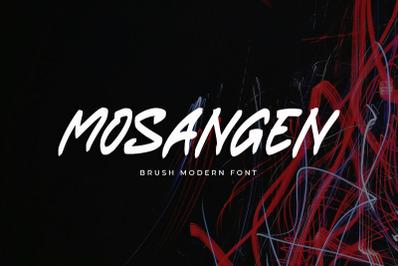 Mosangen - Brush Modern Font