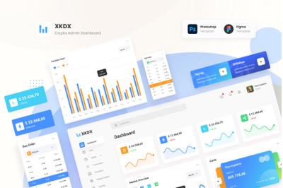XKDX - Clean Crypto Admin Dashboard