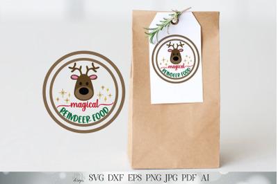 Reindeer Food SVG   Reindeer SVG   Christmas SVG   Reindeer Snack svg
