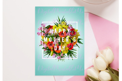 Mother's Day Card, Happy Mother's Day printable, mom love, instant, do