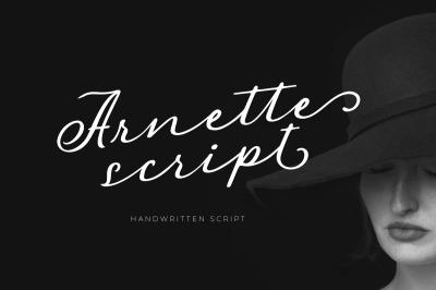 Arnette - Handwritten Script