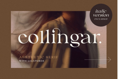 Collingar - Aesthetic Serif