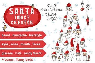 Santa faces creator