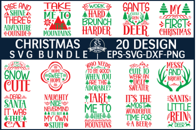 christmas svg bundle vol 4