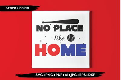 No Place Like Home SVG