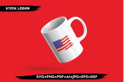 USA Flag SVG