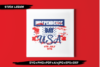 Independence Day USA 4th Of July 1776 SVG