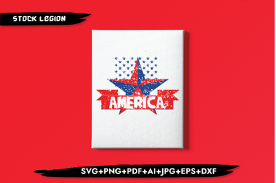 America Star SVG