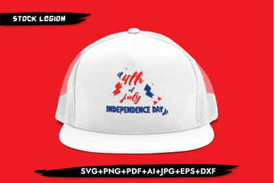 4th Of July Independence Day SVG