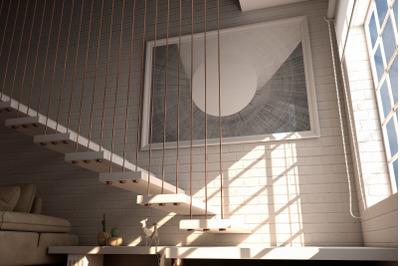 Indoor House Photorealistic MockUps