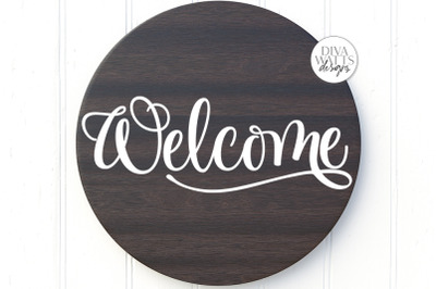 Welcome SVG | Farmhouse Sign | DXF and more!