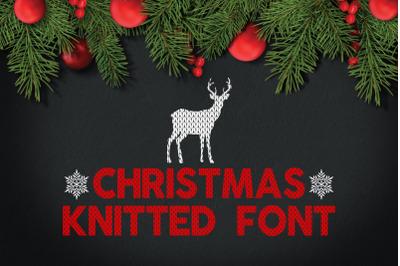 Christmas Knitted Font v4
