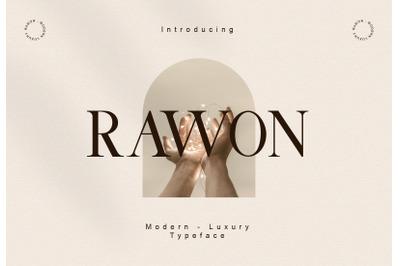 Rawon - Luxury Font