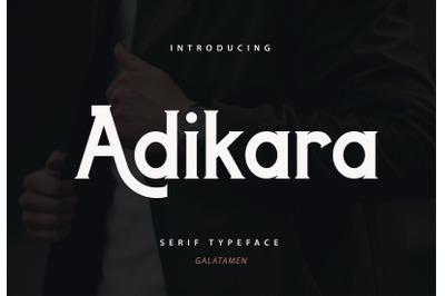 Adikara - Elegant Luxury Font