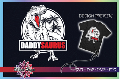 Daddysaurus T-rex Father's Day