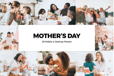 20  Mother's Day LR Presets