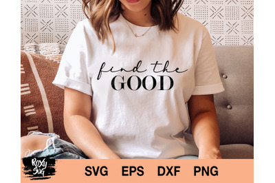 Find The Good svg