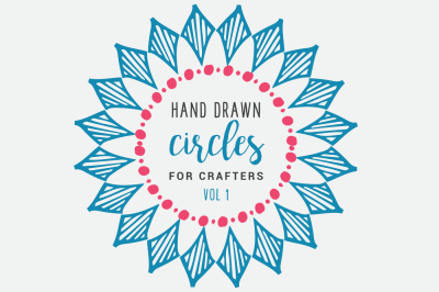 Hand Drawn Circles for Crafters Vol. 1